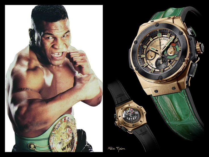 The Hublot Mike Tyson Limited Edition watch#chronowatchco