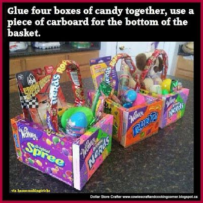 DIY Edible Easter Baskets