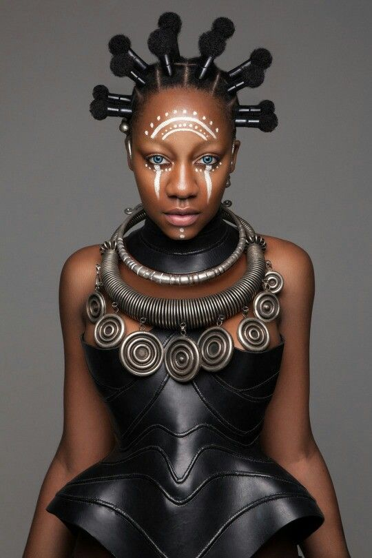 These Stunning Futuristic and African-Inspired Hairstyles Won the British Hair Awards