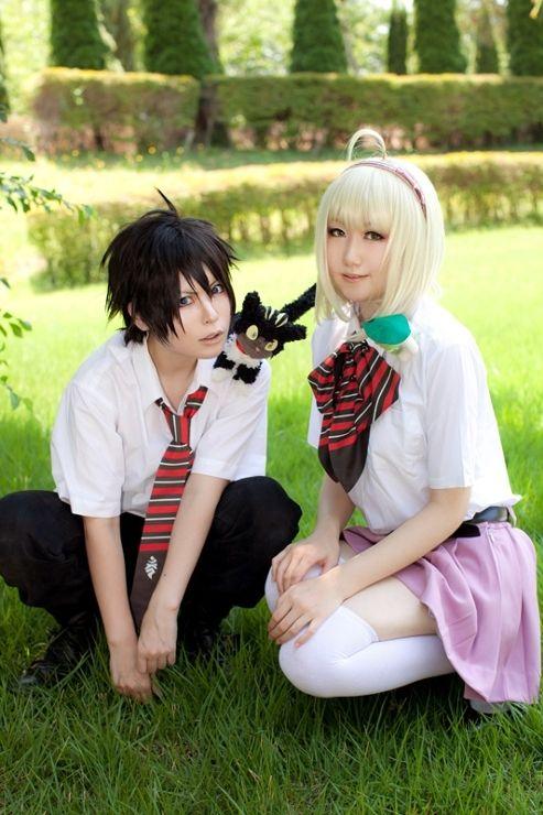 Rin and Shiemi
