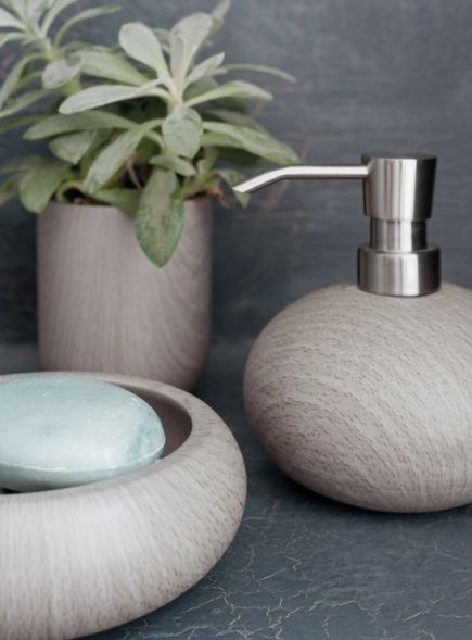 Naken Interiors | Aquanova Zenya Toothbrush Holder | Scandinavian Bathroom Inspiration
