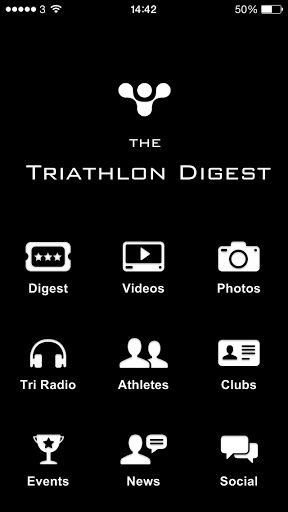 The Triathlon Digest is your social hub for everything triathlon. <p>- watch the latest video news, photo streams and race coverage from the ITU world triathlon series and Ironman events<p>- Read up some of the best training tips and news from our triathlon digest which brings together feeds from well known brands such as triathlete magazine, slowtwitch, 220 magazine,  ironman and more<p>- Find out what our top triathletes are tweeting about<p>- Check out whats happening in clubs around the…