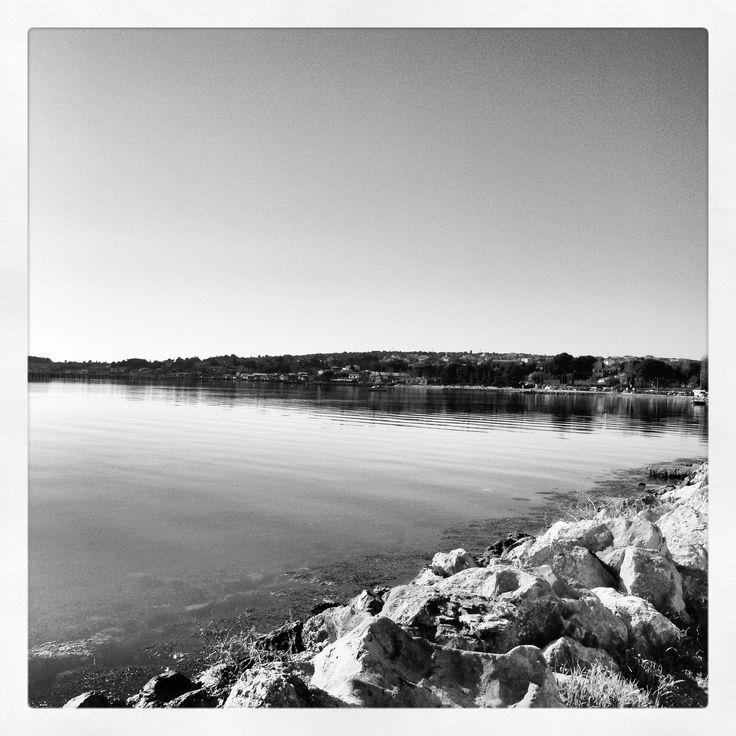 Vue sur l'étang de Thau