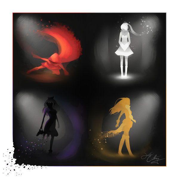 The RWBY Quartet by CourtneyCrawford.deviantart.com on @deviantART