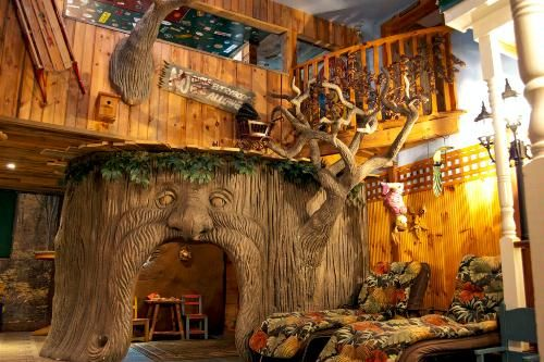 At North Conway, NH's Adventure Suites hotel,