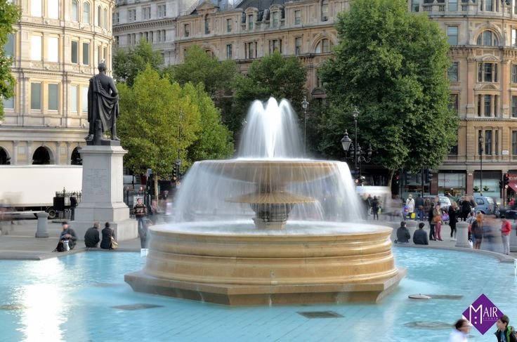 Fountain, Trafalgar Square, London / Mair Studio