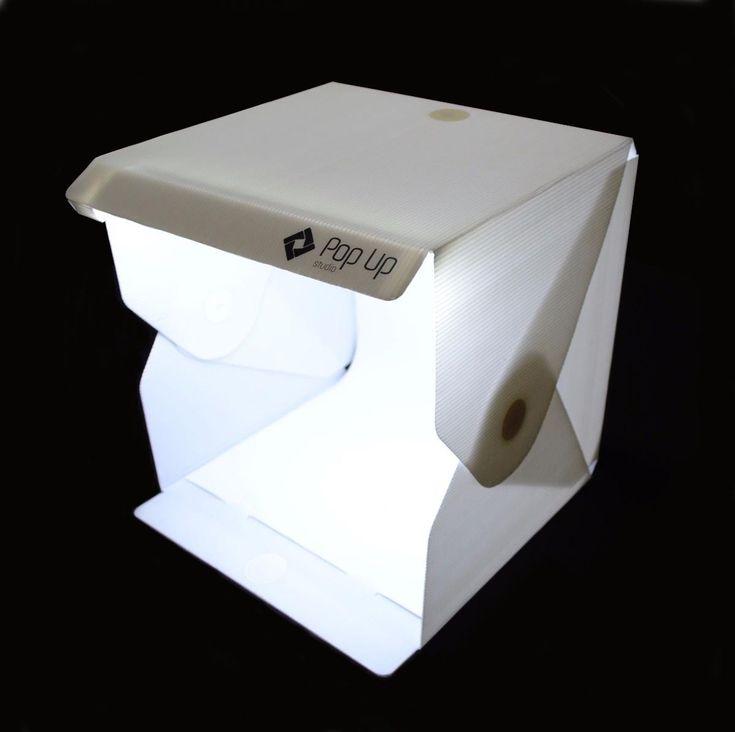 Mini Estúdio Fotográfico Portátil Com Iluminação Led - Dadoshop ferramentas utilidades informatica papelaria maquinas e equipamentos