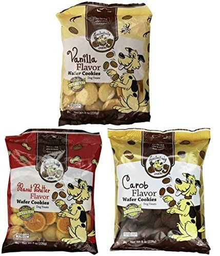 Exclusively Dog Wafer Cookies All Natural Dog Treats 3 Flavor Variety Bundle: (1) Peanut Butter Wafer Cookies, (1) Carob Wafer Cookies, and (1) Vanilla Wafer Cookies, 8 Oz. Ea. (3 Bags Total) -- Be sure to check out this helpful article.