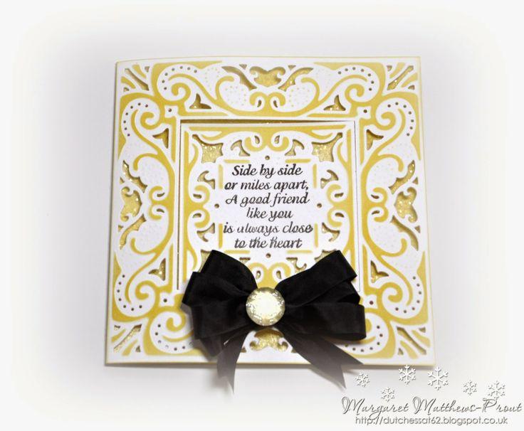 dutchess: Crafters companion create a card....these dies make fabulous card and card fronts.......