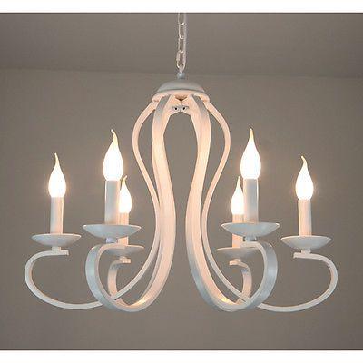 Rustikale Decken Leuchte Antik Landhaus Lampe Hngelampe 6 Lster In Mbel Wohnen Beleuchtung Deckenlampen Kronleuchter