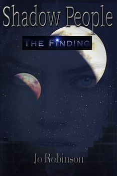 TSRA's Published Book Covers for Shadow People (The Finding) by Author Jo Robinson