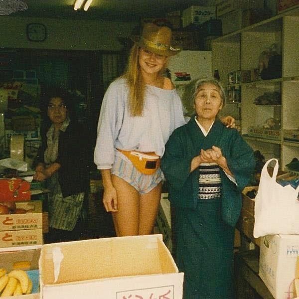 Yolanda Hadid  at Gigi's age