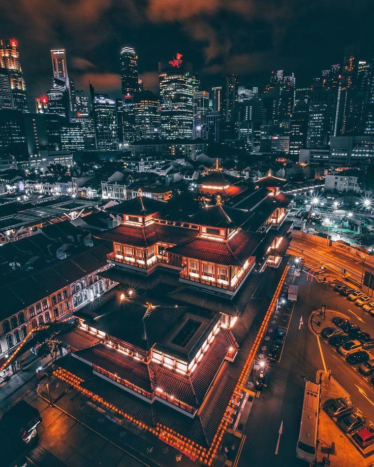 Spectacular Urban Instagrams Of Singapore By Luke Goh