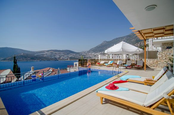 Villa Sezen, Kalkan, Turkey. Find more at www.villaplus.com