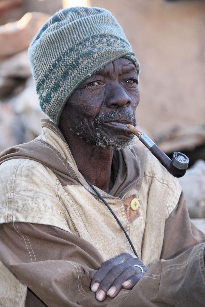 portret z fajką