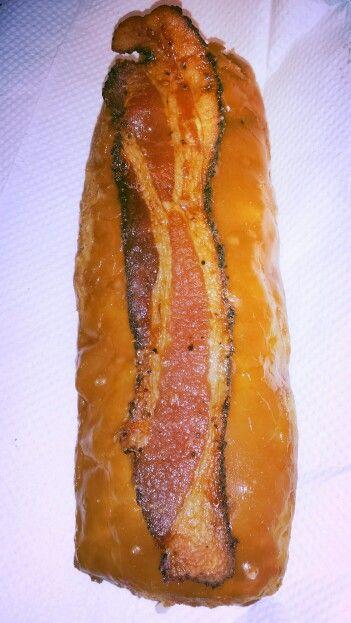 Maple Bacon Long John @ Glazed and Infused