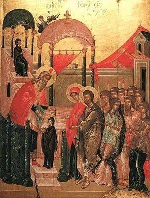 21 Novembre Ingresso della Tuttasanta Madre di Dio nel Tempio