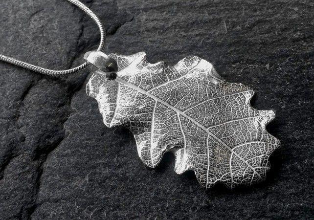 Fine Silver Oak Leaf £34.00