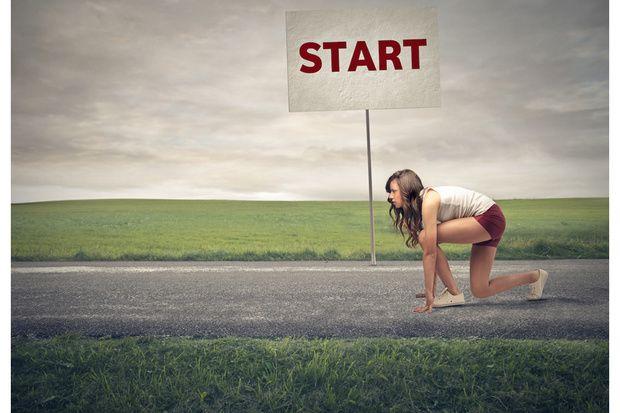 Iniziare a correre, a piccoli passi per raggiungere una grande ricompensa!