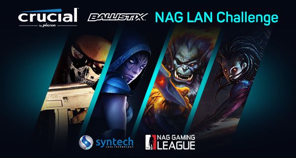 Are you also exited for rAge? Are you ready for the Crucial Ballistix NAG LAN Challange?  #syntech #rAge2015