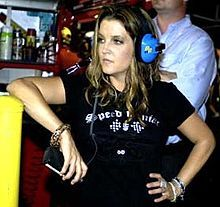 "Lisa Marie Presley (born February 1, 1968) is an American singer and songwriter, also known as the ""Princess of Rock and Roll"".[1][2] She is the only child of Elvis Presley, and daughter of Priscilla Presley."