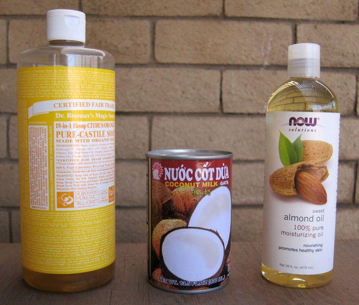 Homemade Shampoo + Conditioner | tiffanylanehandmade