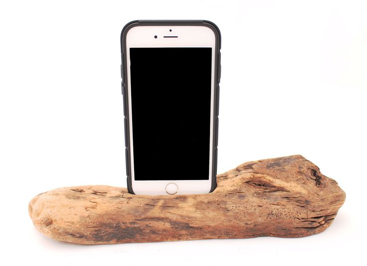 DRIFTWOOD IPHONE HOLDER/CHARGING STATION from Laguna Artisans