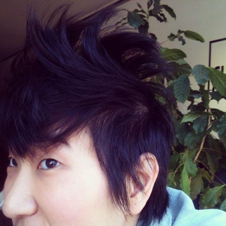 Today's bedhead megawave hair #shorthair