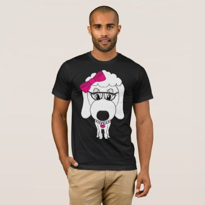 Hipster Dog Tshirt - cool gift idea unique present special diy