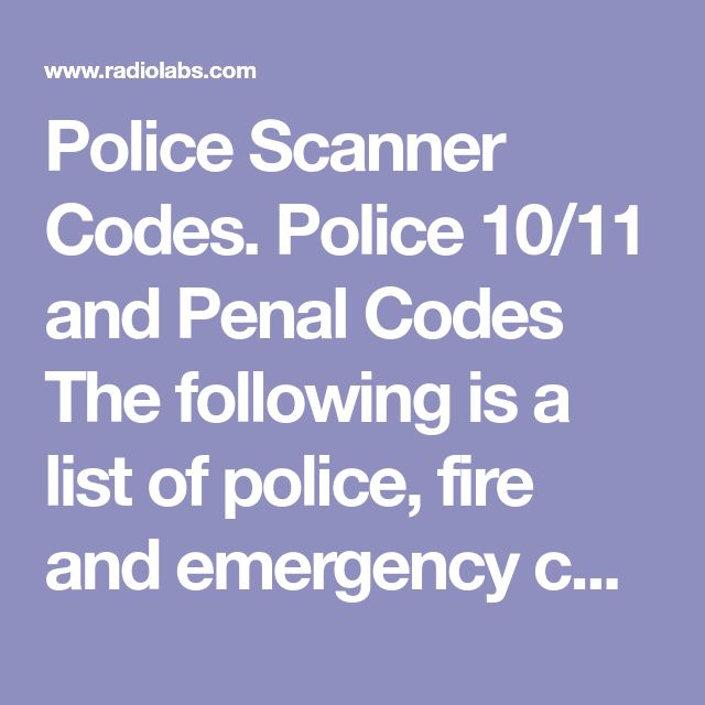 The  Best Police Radio Codes Ideas On   Morse Code