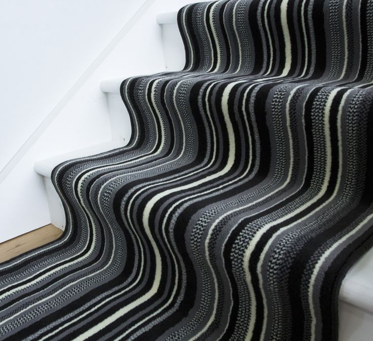 Striped Black And White Area Rug For Stairs Black And White Area Rugs Pin