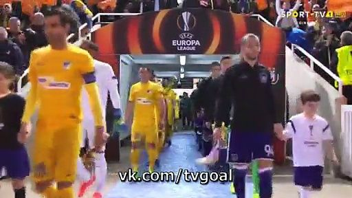 VIDEO APOEL 0 - 1 Anderlecht HIGHLIGHTS 09.03.2017 | PPsoccer