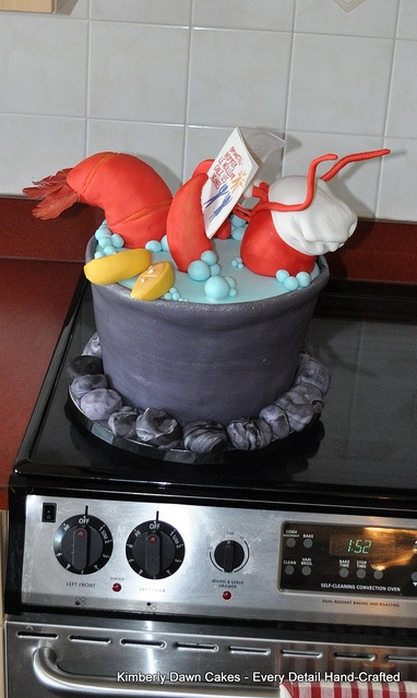 Lobster Cake by Kimberly Dawn Cakes, via Flickr