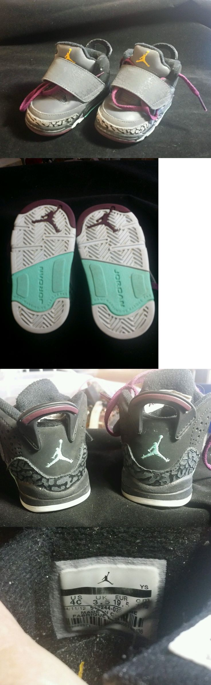 Michael Jordan Baby Clothing: Baby Air Michael Jordan Nike Shoes, Size 4C -> BUY IT NOW ONLY: $9.95 on eBay!