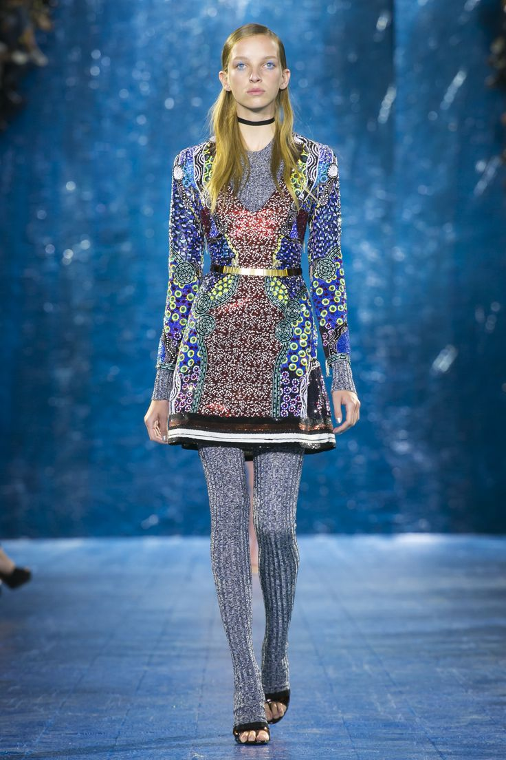 Look 1. Prism Dress, Fontaine Jumper & Long Sock