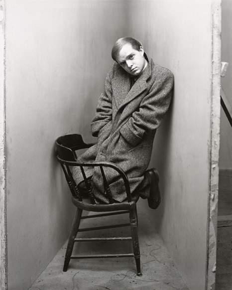 Truman Capote  :: His corner (Irving Penn)