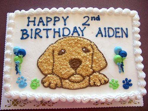Puppy Dog Cake by Linda's Kitchen, via Flickr