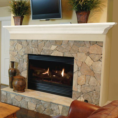 Pearl Mantels Crestwood Transitional Fireplace Mantel Shelf - Fireplace Mantels at Hayneedle