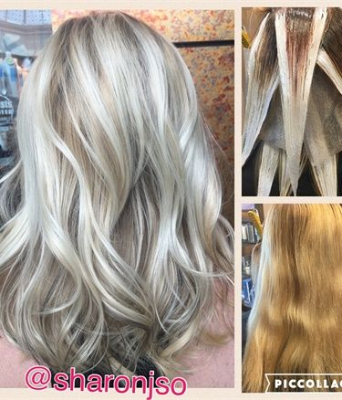 COLOR CORRECTION: From Grown Out Blonde To Dimensional Pale Wheat - Career - Modern Salon