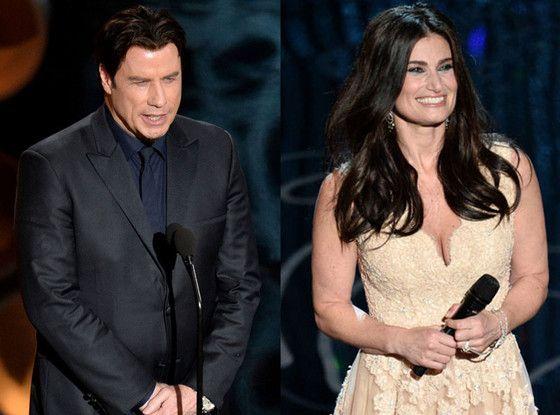 """dina Menzel Hugged John Travolta After Her Oscars Performance, """"Laughed Off"""" Adele Dazeem Mishap"""