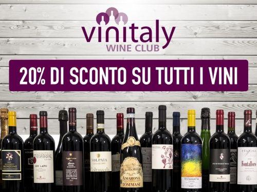 Pronti per stappare un buon vino? Su #Vinitaly puoi farlo col 20% di sconto!#ad
