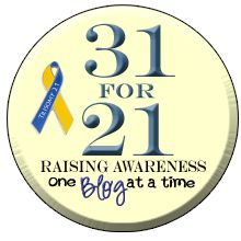 Day 1 - Tag 1 von 31 for 21 #31for21 #DownSyndromAwarenessMonth