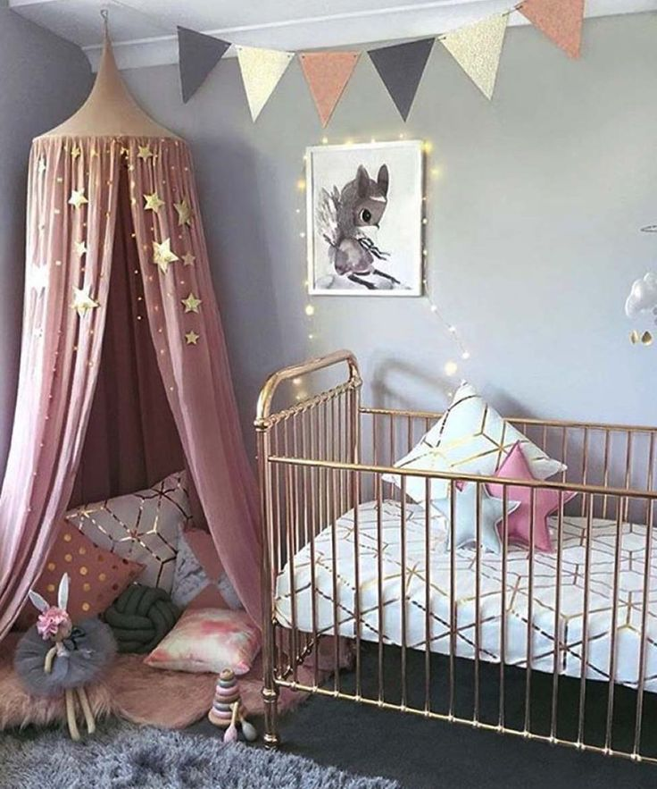 Small Cozy Bedroom For Girls Bewitching Pink Wallpaper In: 25+ Best Ideas About Nursery Nook On Pinterest