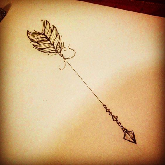 28 Amazing Arrow Tattoos for Female
