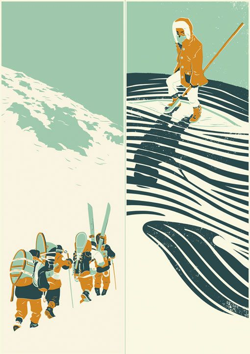 """Matthew James Taylor is aUK-based illustrator who is influenced by """"faded Americana, found photos, wildlife, wild music and the drawings of Jack Kirby"""" #illustration #prints"""