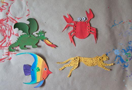 """Tiere basteln mit kostenlosen Vorlagen. Krebse, Drachen, Tiger, Fische - auch jede Menge Zootiere. Auf meinem Blog - in meinem Post zum Thema """"Tiere basteln"""" - verlinke ich zu der tollen amerikanischen Seite, auf der es Hunderte von Vorlagen gibt - alle umsonst. Hier geht's lang: http://www.meinesvenja.de/2013/09/20/tiere-basteln-kostenlose-vorlagen/"""
