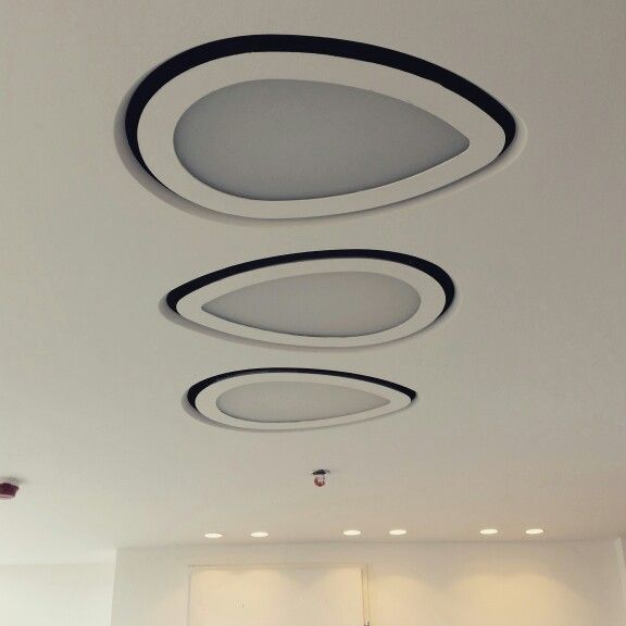 triple set air diffuers with light