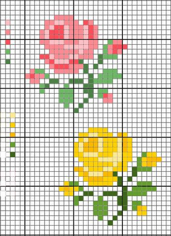 how to: alter the colors in a cross stitch chart