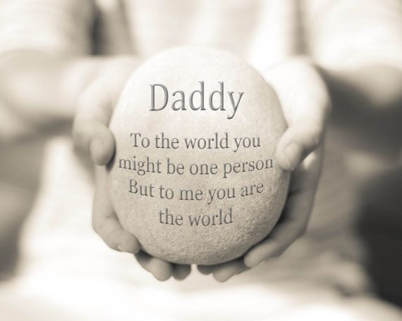 Daddy Gift Daddy Quote Print Gift for Dad by OceanDropPhotography, $19.00