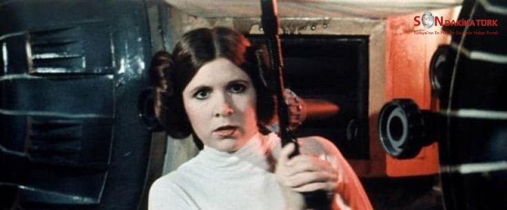 Star Wars'un ünlü yıldızı Carrie Fisher hayatını kaybetti